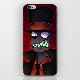 Black Hat iPhone Skin