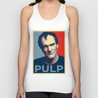 pulp Tank Tops featuring Pulp! by LilloKaRillo