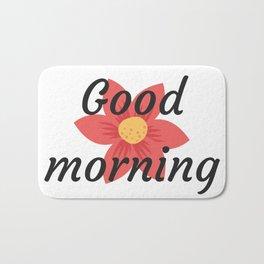 Good morning | Buenos días Bath Mat