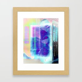 Thief Without A Clue Framed Art Print