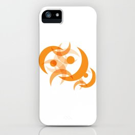 Orange Moon iPhone Case iPhone Case