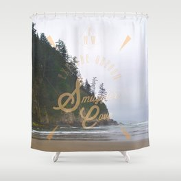 The Smuggler's Cove Shower Curtain