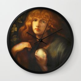 Dante Gabriel Rossetti - Mary Magdalene. Wall Clock