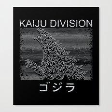 Kaiju Division Canvas Print