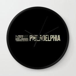 Black Flag: Philadelphia Wall Clock