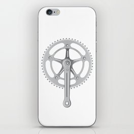 Campagnolo Track Chainset, 1974 iPhone Skin