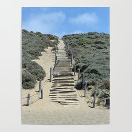 Carol Highsmith - Steps in the Sand Poster
