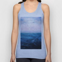 Watercolor Sea 5 Unisex Tank Top