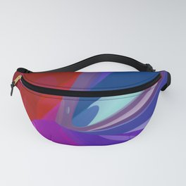 polynomial pattern -5- Fanny Pack