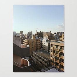 Sunset in Tokyo Canvas Print