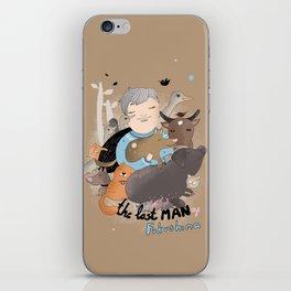The Last Man in Fukushima iPhone Skin