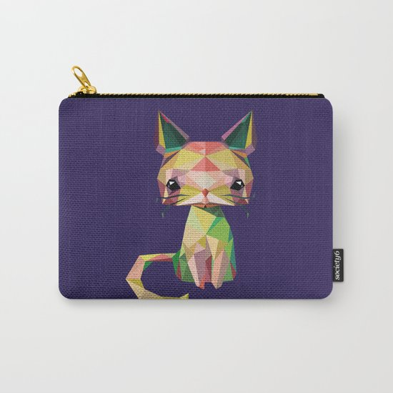 Cute cat Carry-All Pouch