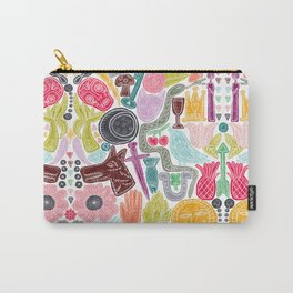 Fortune Icons Carry-All Pouch
