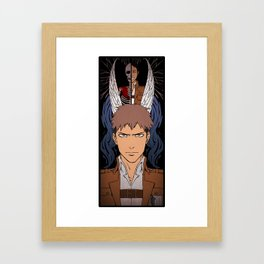 Shingeki no Kyojin - Jean card Framed Art Print