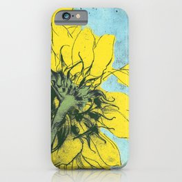 The sunflowers moment iPhone Case