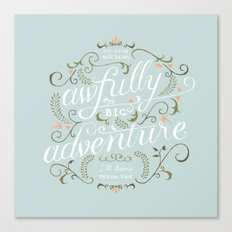 Big Adventure Canvas Print
