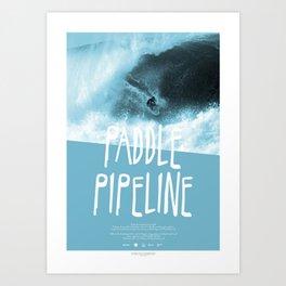 PADDLEMEN  Art Print