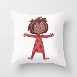 Litt'l Throw Pillow