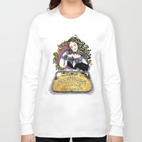 ouija Long Sleeve T-shirts featuring Ouija by Daniella Batsheva