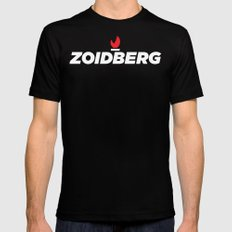 Zoidberg MEDIUM Mens Fitted Tee Black