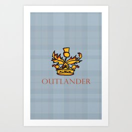 Outlander Art Print