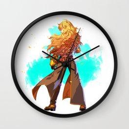RWBY Minimalist (Yang Xiao Long) Wall Clock
