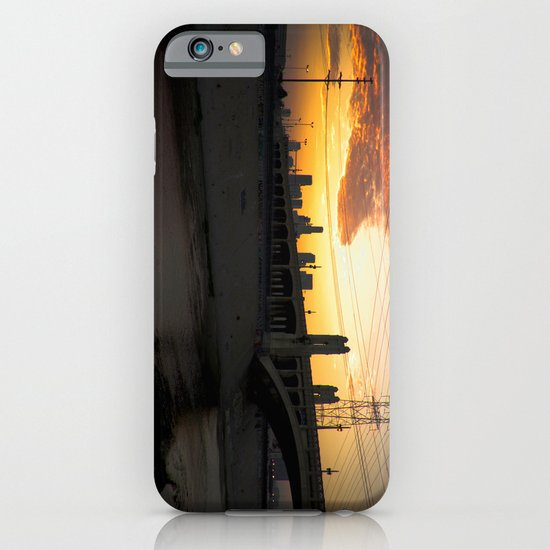 Los Angeles - Downtown Canal Sunset iPhone & iPod Case