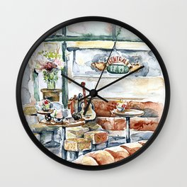 Friends TV Show Cafe Wall Clock