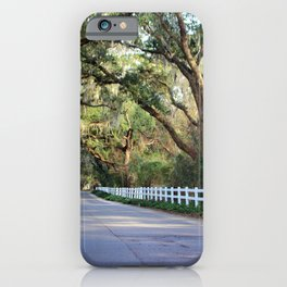 Old South Live Oaks iPhone Case