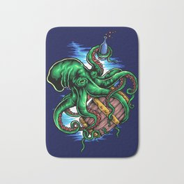 Octopus King Bath Mat