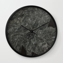 An Ode To You ... When Particles Align Wall Clock