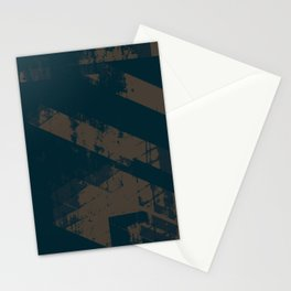 Abstract_Blue Stationery Cards