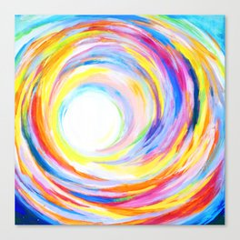 Rainbow Journey Canvas Print
