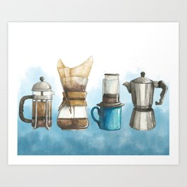 How Do You Brew? Art Print