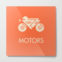 MOTORS / The Bike Metal Print