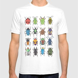 Beetle Species T-shirt