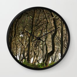 Coolest woods ever. Oregon Coast Wall Clock