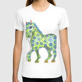 Caballo Serie amimales domésticos colombianos T-shirt