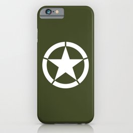 US Army Star iPhone Case