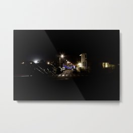 Mimizan Plage by night Metal Print