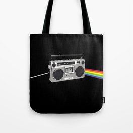 Dark Side of the Boombox Tote Bag