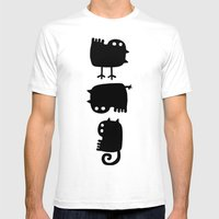 Diversity SMALL White Mens Fitted Tee