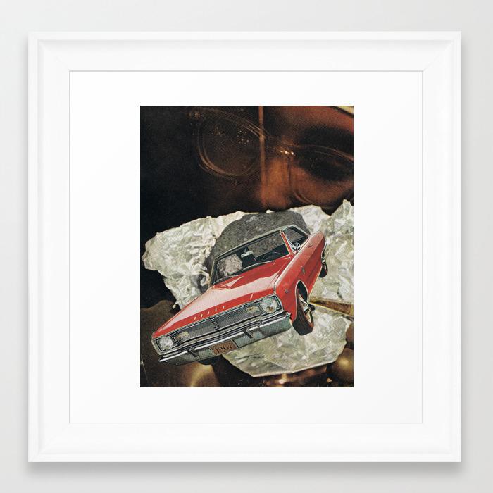 67 Framed Art Print