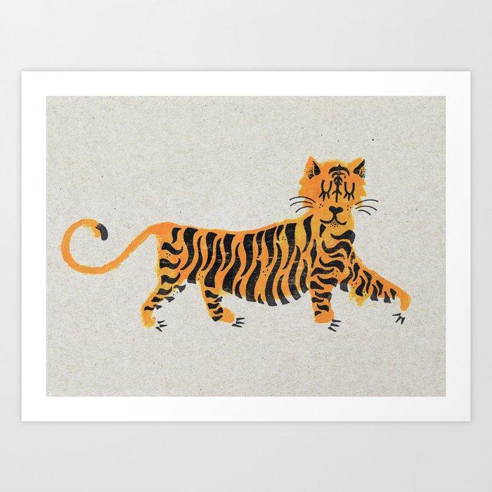 Tigre Kunstdrucke