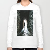silhouette Long Sleeve T-shirts featuring Silhouette by Kim Ramage