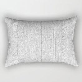 Whitewashed wood Rectangular Pillow