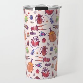 Beetle - pastel Travel Mug