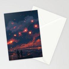 Magic Night Stationery Cards