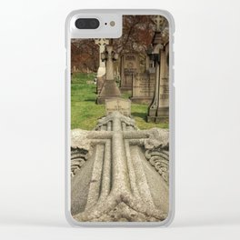 Cross Clear iPhone Case