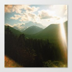 rainier . holga Canvas Print